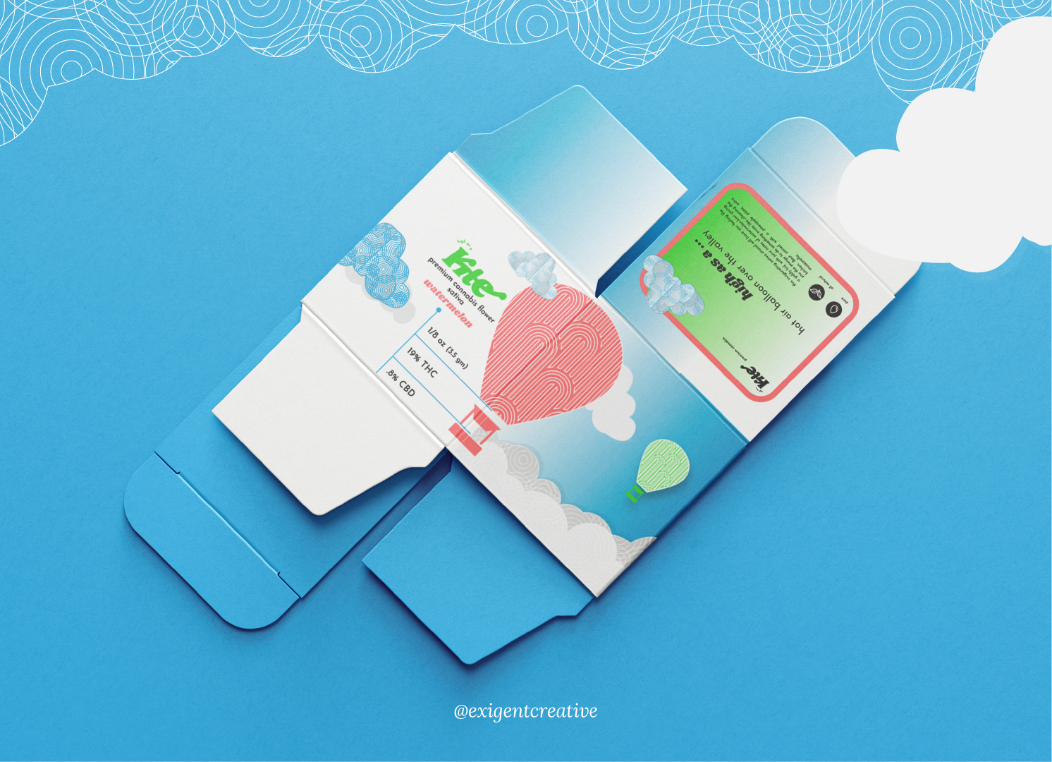 packaging mockup front